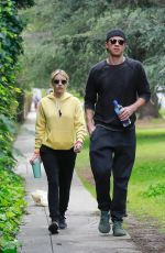 Emma Roberts Hiking by the Griffith Observatory in Los Angeles