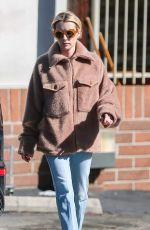 Emma Roberts Leaving a Supermarket in Hollywood