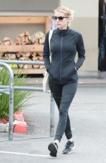 Emma Roberts Out buying supplies at a local supermarket in Los Feliz