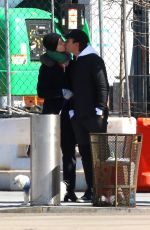 Ewan McGregor and girlfriend Mary Elizabeth Winstead share a passionate kiss in Manhattan