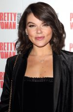 Faye Brookes Attends the Pretty Woman, The Musical Press Night t the Piccadilly Theatre in London