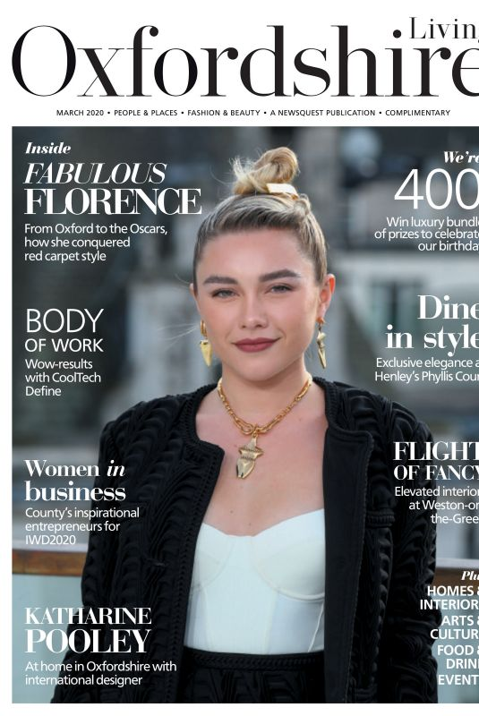 Florence Pugh - Oxfordshire Limited Edition March 2020
