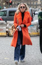 Florence Pugh Seen out in Paris