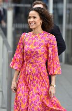 Gugu Mbatha-Raw On the Chris Evans show promoting the Misbehaviour film in London