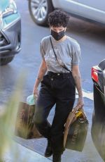 Halsey Shopping at Erewhon Market in Los Angeles
