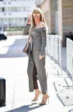 Heidi Klum Arrives at the