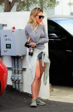 Hilary Duff At Alfred Coffee in Beverly Hills