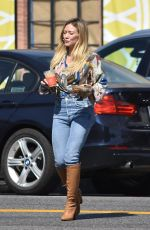 Hilary Duff Outside Alfred