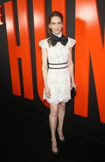 Hilary Swank Attends the premiere of the Hunt at the ArcLight in Hollywood
