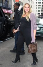 Iskra Lawrence Seen leaving the
