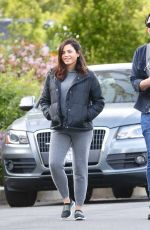 Jenna Dewan Out for a walk in Los Angeles