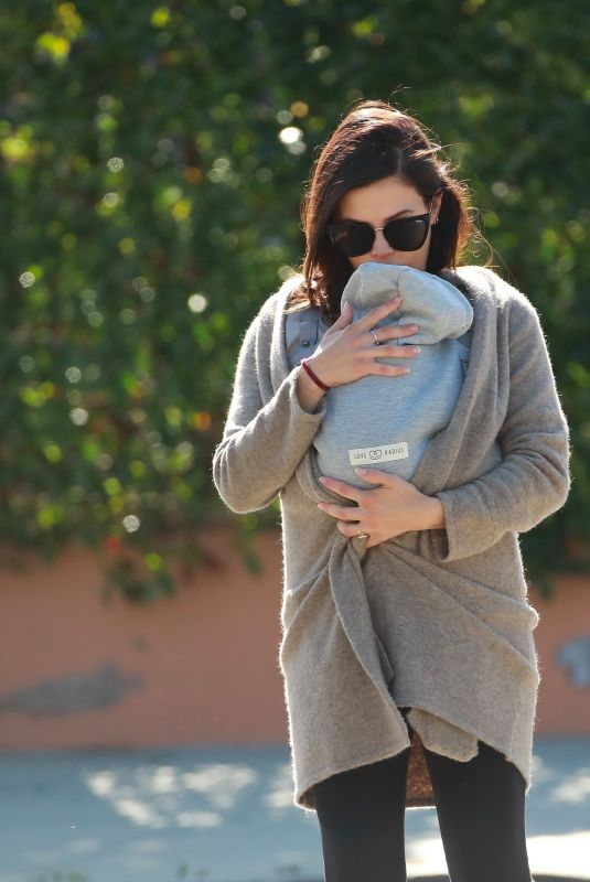 Jenna Dewan Takes baby Michael out for an afternoon walk