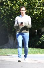 Jennifer Garner Out in Pacific Palisades, California