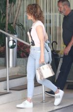 Jennifer Lopez Arrives for a meeting in Miami, Florida