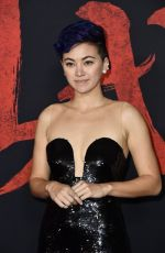 Jessica Henwick At Mulan Premiere in Hollywood