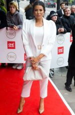 Jessica Wright At TRIC Awards at the Grosvenor House Hotel, London