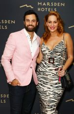Jules Robinson At VIP Launch Of Burwoods First Luxury Hotel in Sydney