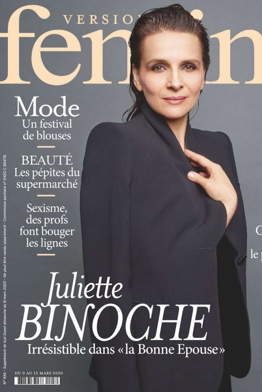 Juliette Binoche - Version Femina 09-15 March 2020