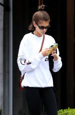 Kaia Gerber Leaving the gym in Los Angeles