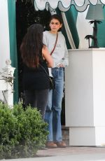 Kaia Gerber Leaving the San Vicente Bungalows in West Hollywood