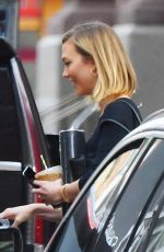 Karlie Kloss Pictured outside her apartment in New York City