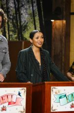 Kat Graham Leaves little to the imagination as she makes a guest appearance on the Good Mythical Morning show in LA
