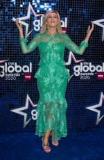 Kate Garraway At The Global Awards 2020 with Very.co.uk at Eventim Apollo, Hammersmith in London