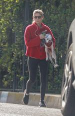 Kate Mara Seen out with her pup in Los Feliz