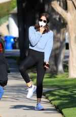 Katharine McPhee Getting some exercise in Los Angeles