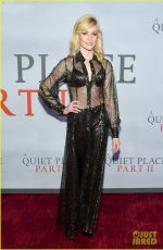 Katherine McNamara At The A Quiet Place Part 2 premiere in Los Angeles