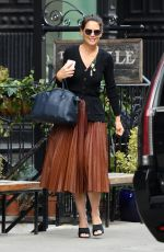 Katie Holmes At The Smile in NYC