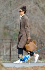 Katie Holmes Out in Central Park, New York