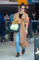 Katie Holmes Returning home in NYC