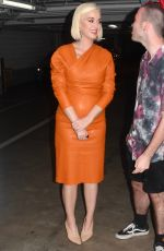 Katy Perry Seen for the first time since grand mothers death in Melbourne