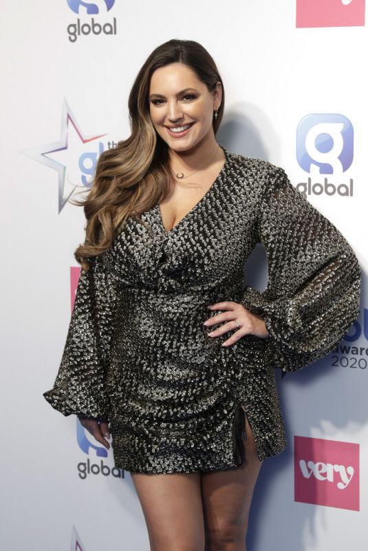Kelly Brook At The Global Awards 2020 in London