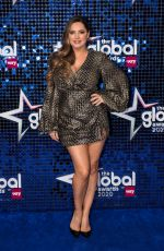 Kelly Brook At The Global Awards 2020 with Very.co.uk at Eventim Apollo, Hammersmith in London