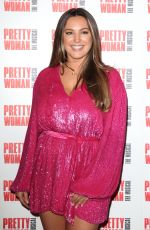 Kelly Brook Attends the Pretty Woman The Musical Press Night at the Piccadilly Theater in London