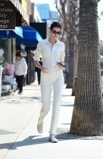 Kendall Jenner Outside a local dry cleaner in Los Angeles