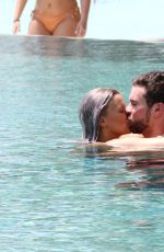 Kerry Katona and boyfriend Ryan Mahoney at the luxury 5 star resort Ayada Maldives