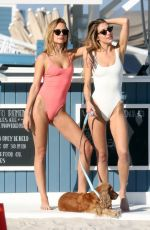 Kimberley Garner In Swimsuit during a photoshoot in Miami