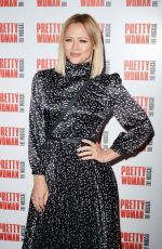 Kimberley Walsh At Press Night for Pretty Woman at the Piccadilly Theatre, Denman Street, London