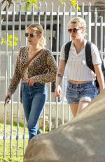 Kristen Stewart and Emma Roberts out together in Los Feliz California