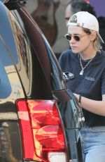 Kristen Stewart Shopping for rare guitars in Los Feliz, California