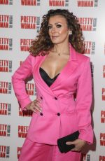Kym Marsh At Press Night for Pretty Woman at the Piccadilly Theatre, Denman Street, London