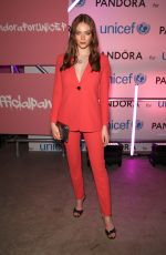 Larsen Thompson At Pandora Charms for Change Event in London