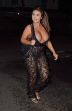 Lauren Goodger Out in London