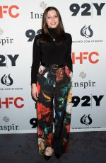 Lauren Miller At HFC (Hilarity for Charity) benefit evening, 92Y, New York