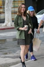 Liana Liberato Seen in West Hollywood