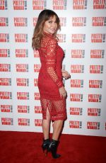 Lizzie Cundy At Press Night for Pretty Woman at the Piccadilly Theatre, Denman Street, London
