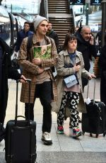 Maisie Williams Arrives at Gare du Nord ahead of the Paris Fashion Week